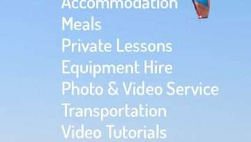 KiteBud's All Inclusive VIP Packages