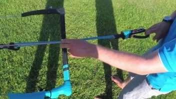 Kitesurfing Line tuning